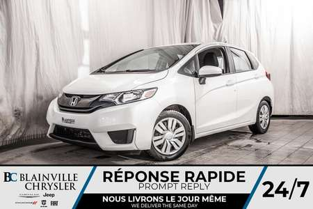 2016 Honda Fit LX * BLUETOOTH * SIEGES CHAUFFANT * CAMERA RECUL for Sale  - BC-P1523  - Blainville Chrysler