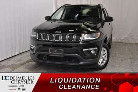 2018 Jeep Compass North + UCONNECT + BANCS CHAUFF 103.28$/sem for Sale  - DC-81223  - Desmeules Chrysler