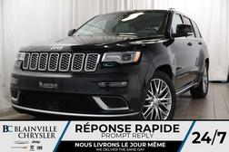 2018 Jeep Grand Cherokee Summit+AWD+V8 5.7L+SUSPENSION AIR+NAV+HEMI  - BC-P1148  - Desmeules Chrysler