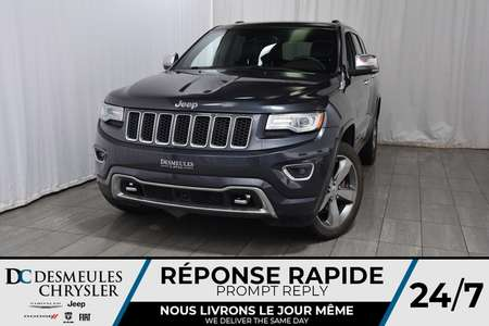 2014 Jeep Grand Cherokee Overland * Toit Ouvr Pano * Cam Rec * DIESEL for Sale  - DC-A1102  - Desmeules Chrysler