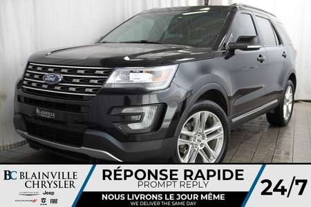 2016 Ford Explorer XLT + MAGS + 4WD + BLUETOOTH + NAVIGATION for Sale  - BC-P1363  - Blainville Chrysler