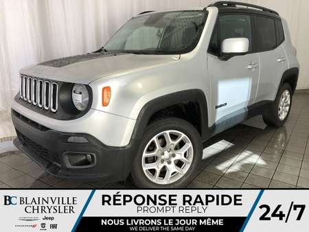 2015 Jeep Renegade LATITUDE * 4X4 * MAGS * BLUETOOTH for Sale  - BC-P1088A  - Desmeules Chrysler