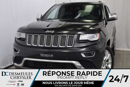 2014 Jeep Grand Cherokee SUMMIT * 4X4 * CUIR * TOIT PANO  * NAV * 4WD for Sale  - DC-81195A  - Blainville Chrysler