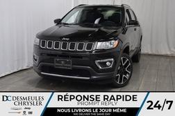 2017 Jeep Compass LIMITED * Cam Rec * GPS * Bancs Chauff * Cuir  - DC-A1128  - Desmeules Chrysler