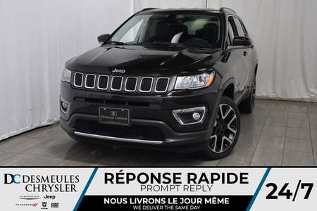 2017 Jeep Compass LIMITED * Cam Rec * GPS * Bancs Chauff * Cuir for Sale  - DC-A1128  - Blainville Chrysler