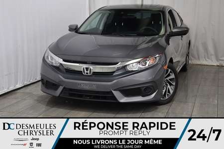 2017 Honda Civic Sedan EX * Toit Ouvr. * Cam. Rec. * Bancs Chauff. * for Sale  - DC-A1047  - Blainville Chrysler