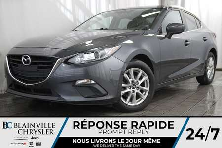 2016 Mazda Mazda3 TOURING + AUTO + MAGS + CAM RECUL + BLUETOOTH for Sale  - BC-P1334  - Desmeules Chrysler