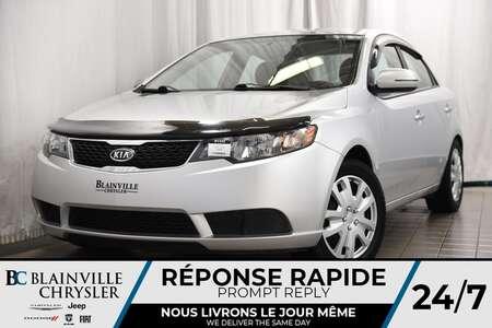 2012 Kia FORTE 43$/SEM+DÉMAR À DIST+SIÈGES CHAUF+JAMAIS ACCIDENTÉ for Sale  - BC-P1173  - Desmeules Chrysler