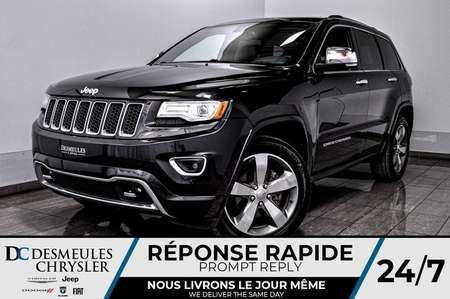 2015 Jeep Grand Cherokee Overland + bancs chauff + toit ouv + navig for Sale  - DC-D1691  - Desmeules Chrysler