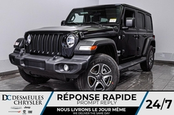 2020 Jeep Wrangler Unlimited Sport S + TURBO + CAM RECUL *132$/SEM  - DC-20107  - Desmeules Chrysler