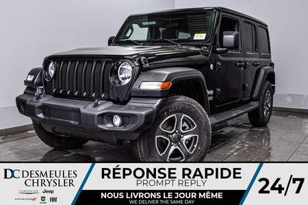 2020 Jeep Wrangler Unlimited Sport S + TURBO + CAM RECUL *138$/SEM for Sale  - DC-20107  - Desmeules Chrysler