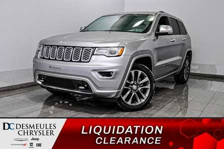 2018 Jeep Grand Cherokee Overland + tout équipé! for Sale  - DC-D1881  - Blainville Chrysler