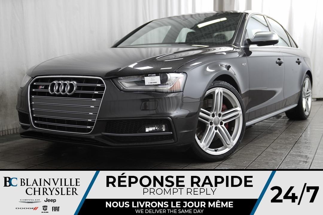 2014 Audi S4  - Desmeules Chrysler