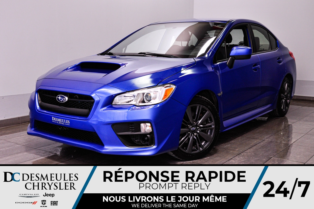 2016 Subaru WRX  - Desmeules Chrysler