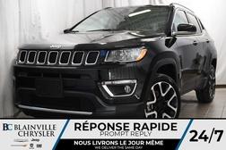 2017 Jeep Compass 89$/SEM + LIMITED + 4X4 + NAV + CUIR + CAM RECUL  - BC-P1189  - Desmeules Chrysler