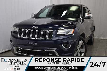 2016 Jeep Grand Cherokee Overland * Toit Ouvr. Pano. * NAV * Cam. Recul for Sale  - DC-81003A  - Desmeules Chrysler