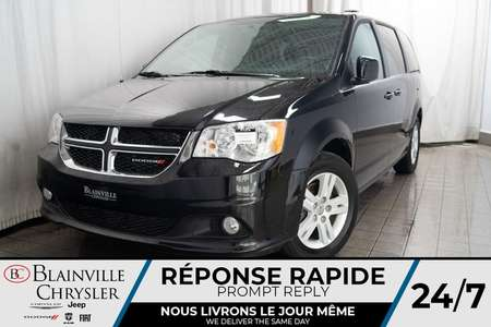 2018 Dodge Grand Caravan CREW + MAGS + CLIM BI-ZONE + CRUISE for Sale  - BC-P1374  - Desmeules Chrysler