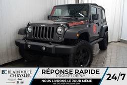 2017 Jeep Wrangler SPORT * 4X4 * MAGS * BLACK OPS * BLUETOOTH  - BC-P1264A  - Blainville Chrysler