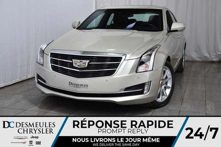 2015 Cadillac ATS SEDAN Premium AWD * Toit Ouvr * NAV *Cam Rec * 127$/Sem for Sale  - DC-A1320  - Desmeules Chrysler