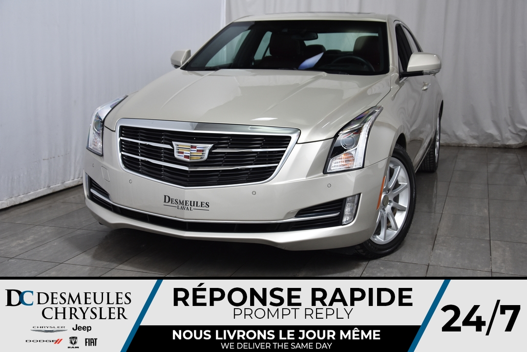 2015 Cadillac ATS SEDAN  - Desmeules Chrysler