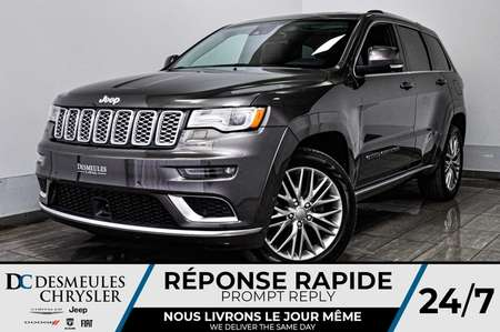 2017 Jeep Grand Cherokee Summit *GPS *Cam de recul * for Sale  - DC-D1667  - Desmeules Chrysler