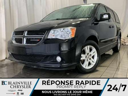 2014 Dodge Grand Caravan CREW * CAM RECUL * MAGS * BANCS CHAUFF * for Sale  - BC-P1545  - Desmeules Chrysler