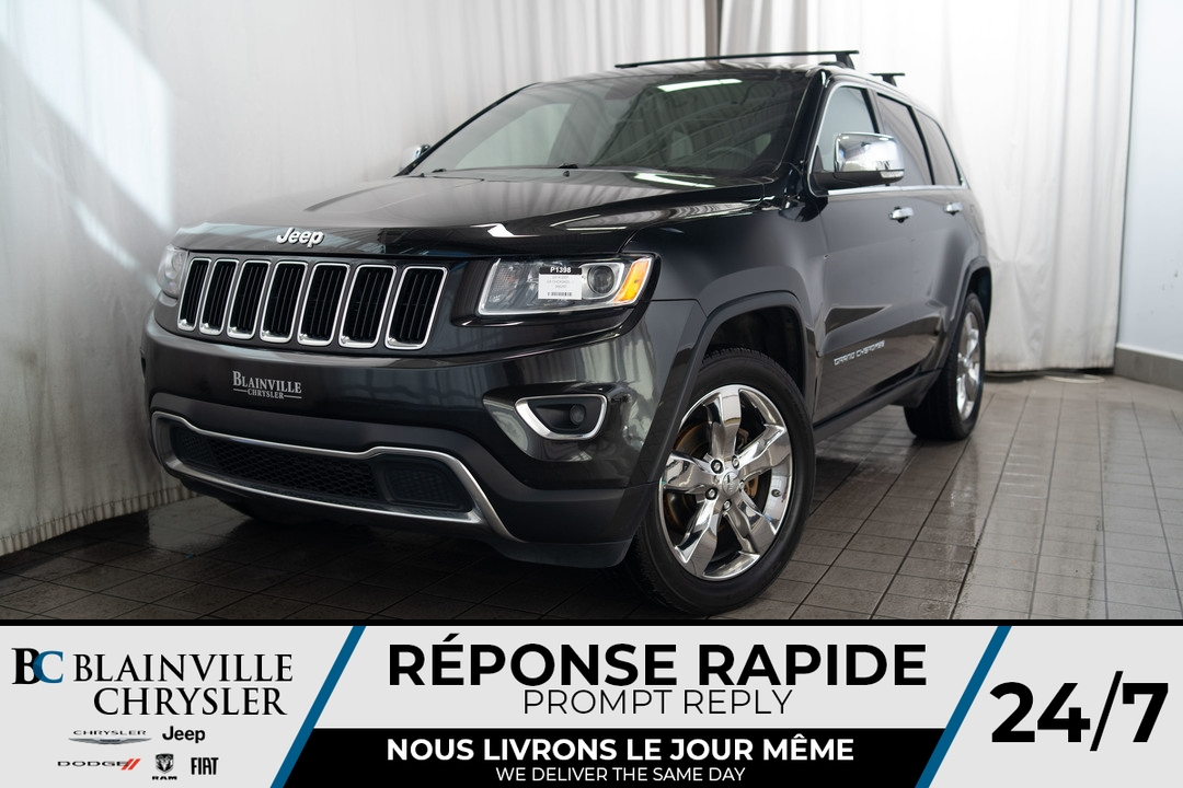 2014 Jeep Grand Cherokee  - Desmeules Chrysler