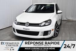 2013 Volkswagen GTI GTI * Toit Ouvr * GPS * Sièges Chauff * Manuelle  - DC-M1215  - Desmeules Chrysler