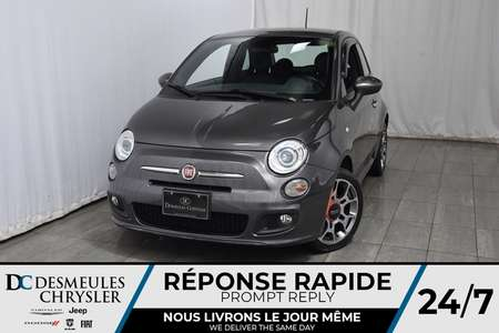 2015 Fiat 500 Sport * Bancs Chauff * A/C Automatique * Manuelle for Sale  - DC-A1115  - Desmeules Chrysler