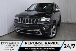2014 Jeep Grand Cherokee Overland * Diesel * Cam Rec * Toit Ouvr Pano * GPS  - DC-A1129  - Desmeules Chrysler