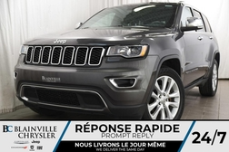 2017 Jeep Grand Cherokee 112$/SEM + LIMITED + V6 3.6L + MAGS + CUIR + TOIT  - BC-P1215  - Desmeules Chrysler