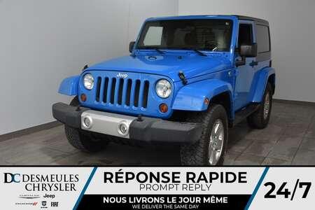 2011 Jeep Wrangler Sahara * Manuelle * Sièges Chauff * for Sale  - DC-M1281A  - Blainville Chrysler