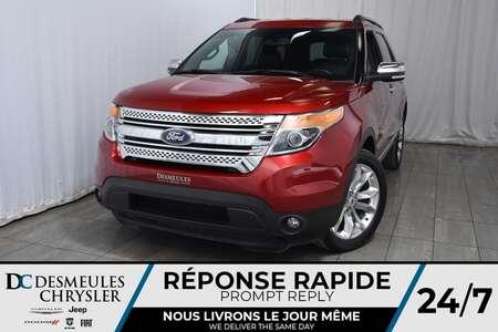 2014 Ford Explorer XLT * Cam Rec * GPS * Sièges Chauffants * Cuir for Sale  - DC-M1226  - Desmeules Chrysler
