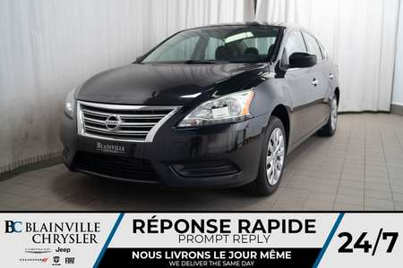 2014 Nissan Sentra S * MANUELLE 6 VITESSES * BLUETOOTH * CLIM for Sale  - BC-P1392  - Desmeules Chrysler