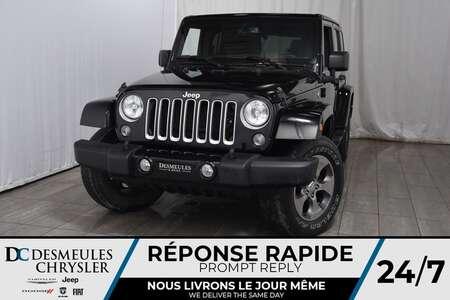 2016 Jeep Wrangler Sahara * Sièges Chauff * Toit Freedom Top * GPS for Sale  - DC-81306A  - Desmeules Chrysler