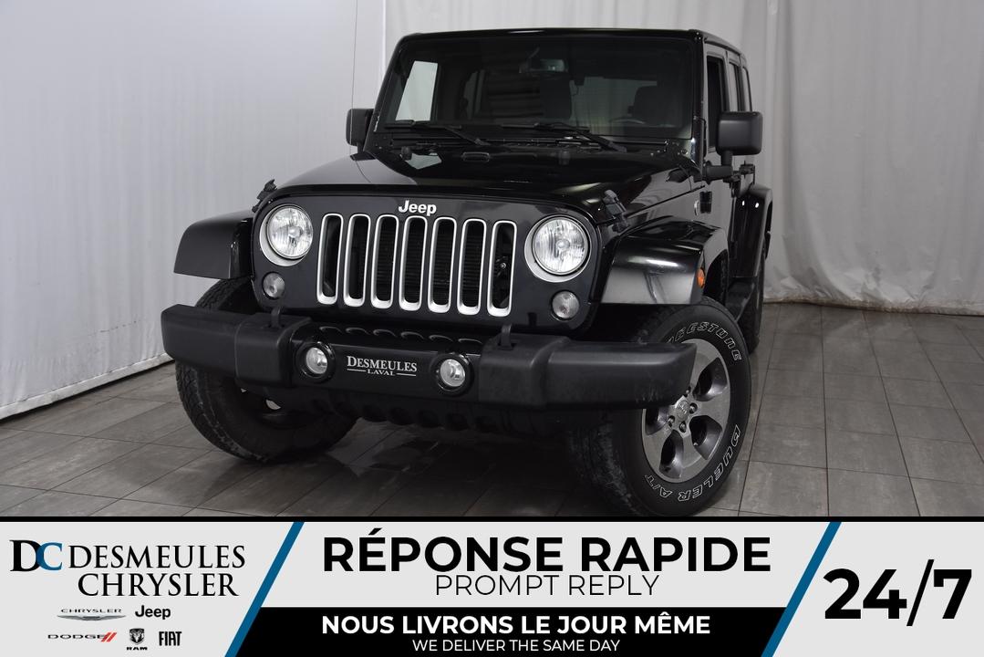 2016 Jeep Wrangler  - Desmeules Chrysler