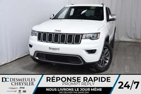 2018 Jeep Grand Cherokee Limited * Cam Rec  * 4 Sièges Chauff for Sale  - DC-M1275  - Desmeules Chrysler