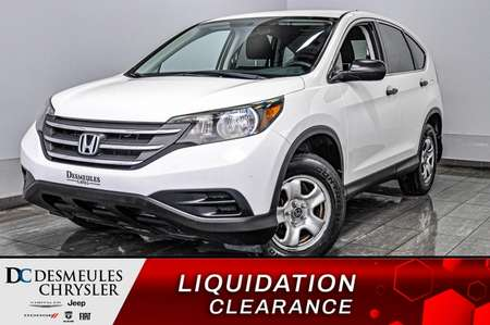 2012 Honda CR-V LX + bancs chauff + cam recul + bluetooth for Sale  - DC-D1694  - Blainville Chrysler