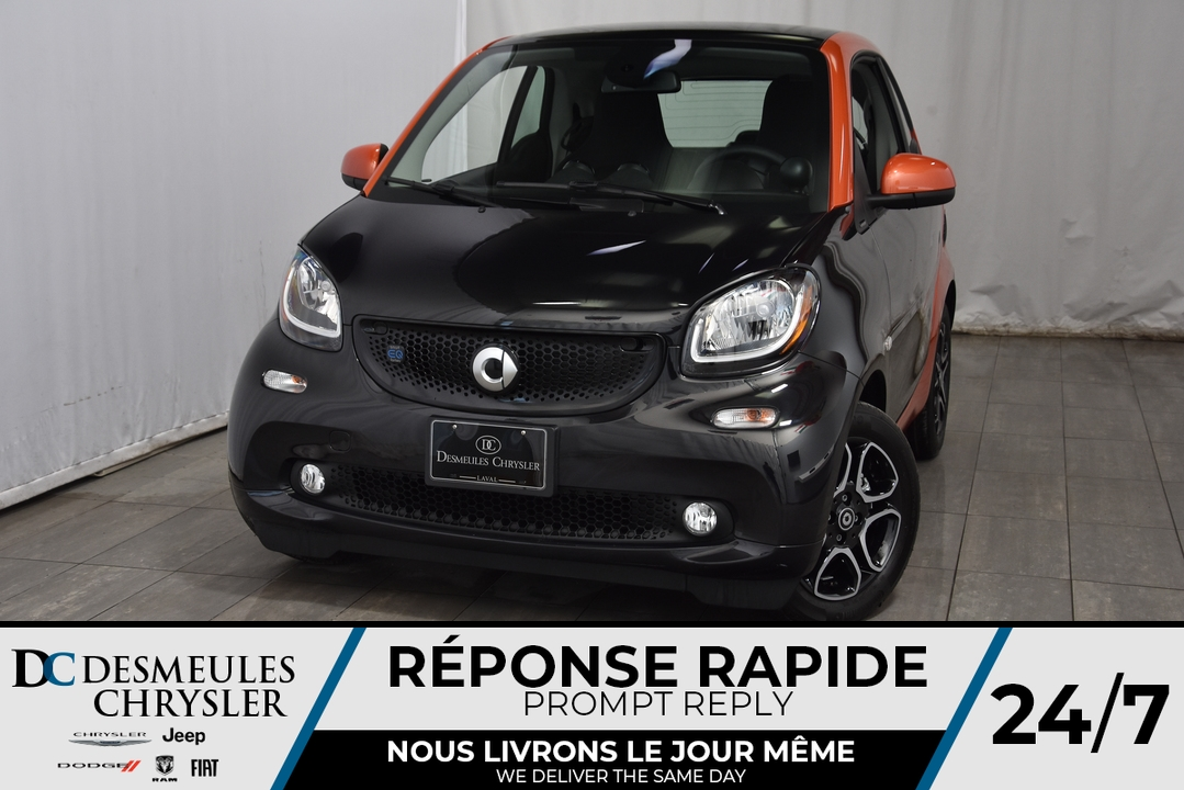 2018 Smart Fortwo electric drive  - Desmeules Chrysler
