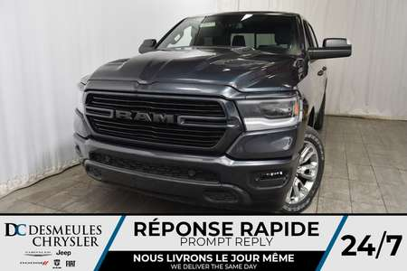 2019 Ram 1500 Sport Crew Cab + UCONNECT + BANCS CHAUFF for Sale  - DC-90257  - Desmeules Chrysler
