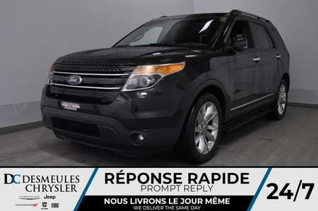 2013 Ford Explorer Limited + bancs chauff + volant chauff + bluetooth for Sale  - DC-M1507A  - Blainville Chrysler