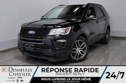 2018 Ford Explorer Sport * Cam Rec * NAV * Toit Ouvr * 163$/Semaine  - DC-M1462  - Blainville Chrysler