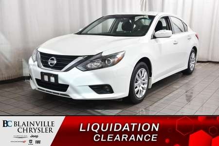 2016 Nissan Altima 2.5 S * A/C * CRUISE * BLUETOOTH * PROPRE * for Sale  - BC-P1598  - Blainville Chrysler