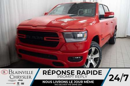 2020 Ram 1500 SPORT * MAGS * 4X4 * BLUETOOTH * CAM RECUL for Sale  - BC-20069  - Desmeules Chrysler