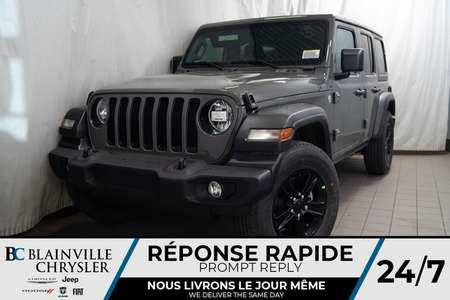 2020 Jeep Wrangler 8 SPORT * MAGS * 4X4 * BLUETOOTH * SIÈGES CHAUFF for Sale  - BC-20096  - Desmeules Chrysler