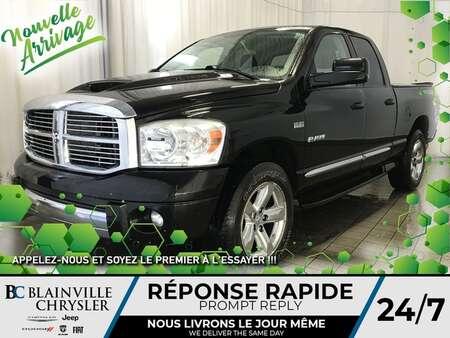 2008 Dodge Ram 1500 Laramie * SIÈGES EN CUIR * * BAS KILO * for Sale  - BC-80222A  - Desmeules Chrysler