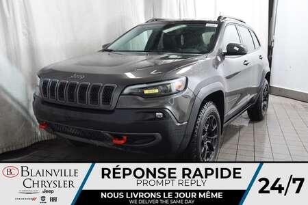 2020 Jeep Cherokee Trailhawk Elite + CUIR + BANCS CHAUUF + BANCS VENT for Sale  - BC-20153  - Desmeules Chrysler
