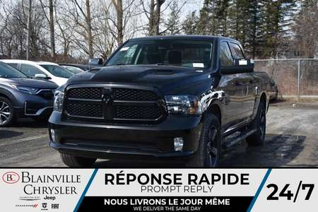 2020 Ram 1500 * NIGHT EDITION * MARCHE PIED * CAPOT SPORT * for Sale  - BC-20184  - Desmeules Chrysler