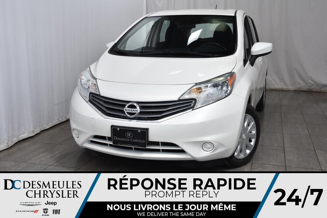 2015 Nissan Versa Note  - Desmeules Chrysler