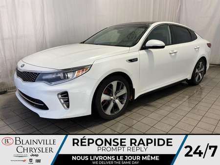 2016 Kia Optima TURBO * BLUETOOTH * TOIT PANORAMIQUE * CAM RECUL for Sale  - BC-P1553A  - Blainville Chrysler